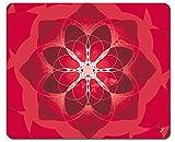 Mandalas - Rojo, Fuerza, Energía Amor Y Pasión Alfombrilla Para Ratón (23 x 19cm)