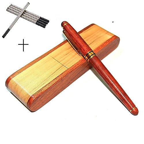 Farsler Gelstiftminen, Schwarz, umweltfreundlich, für Kugelschreiber, Set mit 5 Nachfüllminen in...