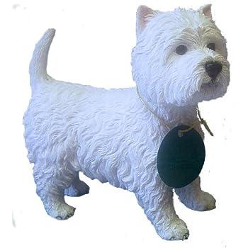 Cania International Westie The Pup Cast Stone Garden Statue