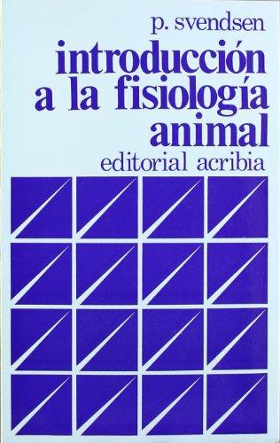 Introducción a la fisiología animal por Per Svendsen