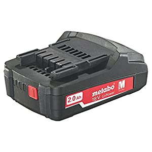 Metabo 625596000 18 V 2.0Ah Li-Ion Slide in Style Battery