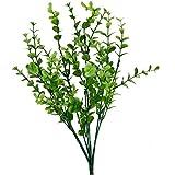 joyliveCY Künstliche Kunststoff Pflanze Eukalyptus Gras 7Niederlassungen für Home Hochzeit Dekoration