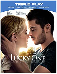 The Lucky One - Triple Play (Blu-ray + DVD + UV Copy) [Region Free]