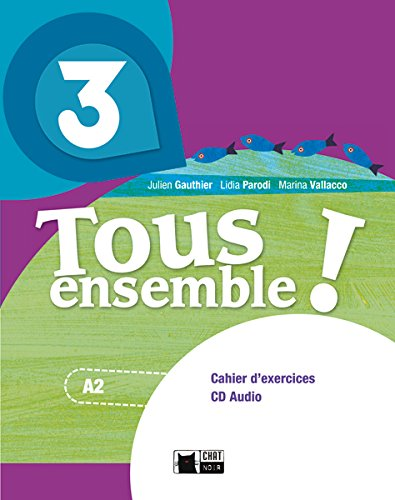 Tous Ensemble 3 Portfolio (Chat Noir. methodes) - 9788468217932