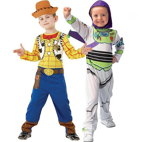 Kostüm Und Buzz Woody - Generique - Toy Story Buzz Lightyear und Woody-Kostüm für Kinder