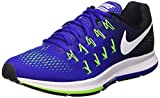 Nike Air Zoom Pegasus 33, Zapatillas de Running Hombre, Azul (Concord / White-Black-Elctrc Grn), 42 EU