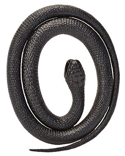 Gummischlange Schwarze Mamba 117 cm (Spielzeug-echsen)