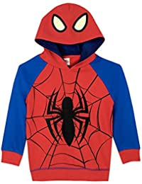 Spiderman Boys Marvel Spider-Man Hoodie Ages 12 Months To 8 Years