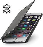 "StilGut Book Type Case ohne Clip, Hülle aus Leder für Apple iPhone 6 Plus (5.5""), schwarz nappa"
