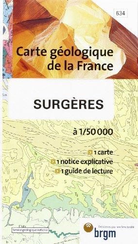 Carte géologique : Surgères