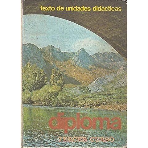 DIPLOMA, TERCER CURSO (Texto de unidades didácticas)