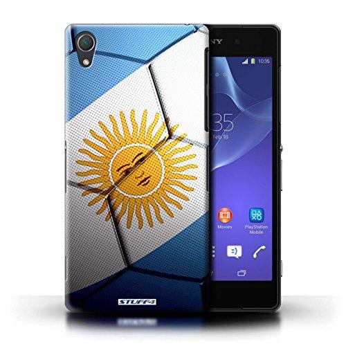 Kobalt® Imprimé Etui / Coque pour Sony Xperia Z2 / Portugal conception / Série Nations de Football Argentine