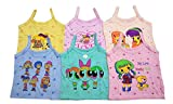 Baby Basic Outfits Baby Inner Wear Girl, Multi Color, Pack of 6 …