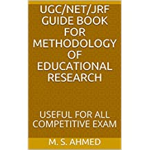 UGC/NET/JRF  GUIDE  BOOK  FOR  METHODOLOGY  OF  EDUCATIONAL  RESEARCH: USEFUL  FOR  ALL  COMPETITIVE  EXAM