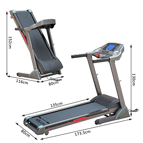 Homcom Unisex Incline – Treadmills