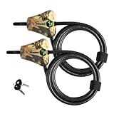 Best Caméras Trail - Master Lock Python Trail Camera réglable Camouflage câble Review