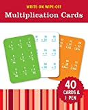 Write-On Wipe-Off Multiplication Cards