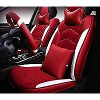 ANG Auto Kissen Vier Jahreszeiten Universelle Thermostatische Leder Volle Sitz Kissen Sitzbezug