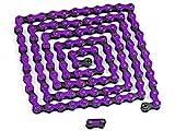 Spezialverstärkte Fahrrad Kette (violet)