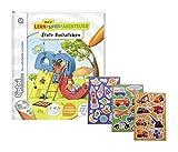 tiptoi Ravensburger Buch Mein Lern-Spiel-Abenteuer - Erste Buchstaben + Kinder-Sticker