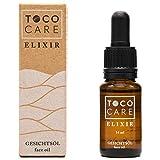 Anti-Aging Gesichtspflege ELIXIR von TocoCare - Feuchtigkeits Gesichtsöl mit Tocotrienol und natürlichem Vitamin E zur täglichen Pflege - 14ml