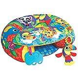 Playgro Activity Spiel- und Sitzkissen 40192 - Ab 6 Monaten - Sit Up and Play Activity Nest - Mehrfarbig