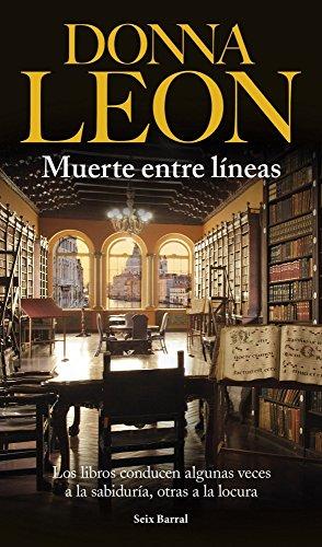 Muerte entre líneas por Donna Leon