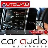 Plug&Play DAB+-Nachrüst-Tuner AUTODAB FM für alle UKW-Radios auf DAB+