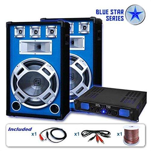 Unbekannt Blue Star Series PA Set Beatstar 2000W