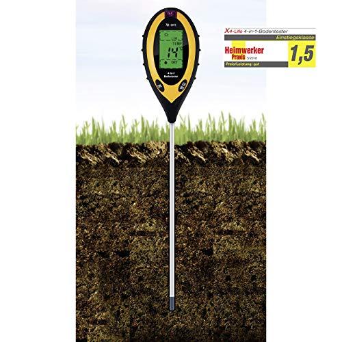 X4-Life Bodentester – digitales Bodenmessgerät