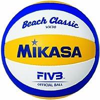 Mikasa VX 30 BEACH CLASSIC Beachvolleybal blau-gelb-weiss