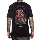 Sullen Men's Electric Scales Short Sleeve T Shirt Black 2XL
