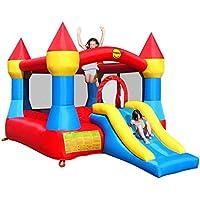 12 x 9ft Turret Kids Bouncy Castle complete with Airflow Fan
