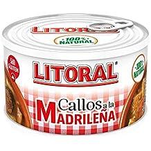 LITORAL Callos Madrileña - Plato Preparado Sin Gluten - Paquete de 12x380g - Total: 4.56