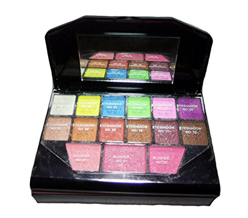 Hanumex T.Y.A Make-up kit 12 Eyeshadow +3 lip color and 3 blusher laptop