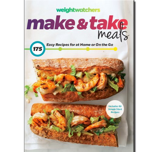 Weight Watchers Cookbook Make and Take Easy Recipes for Home or on the go Just Released March 2014 Brand New