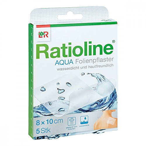 duschpflaster apotheke Ratioline aqua Duschpflaster 8x10 cm 5 stk