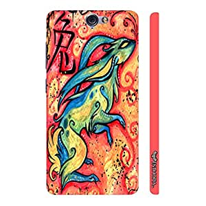 HTC One A9 CHINESE ZODIAC RABBIT designer mobile hard shell case by Enthopia