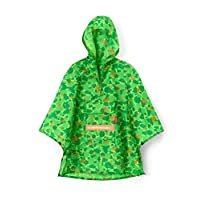 reisenthel Mini Maxi Greenwood Boy Rain Poncho - One Size - IG5035