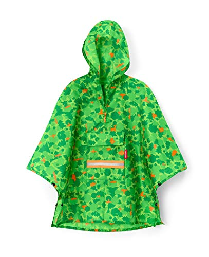 reisenthel mini maxi poncho M kids 93 x 62 x 0 cm greenwood