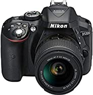 Nikon D5300 24.2MP Digital SLR Camera (Black) with AF-P 18-55mm f/ 3.5-5.6g VR Kit Lens, 16GB Card and Camera
