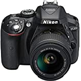 #3: Nikon D5300 24.2MP Digital SLR Camera (Black) with AF-P 18-55mm f/ 3.5-5.6g VR Kit Lens, 16GB Card and Camera Bag