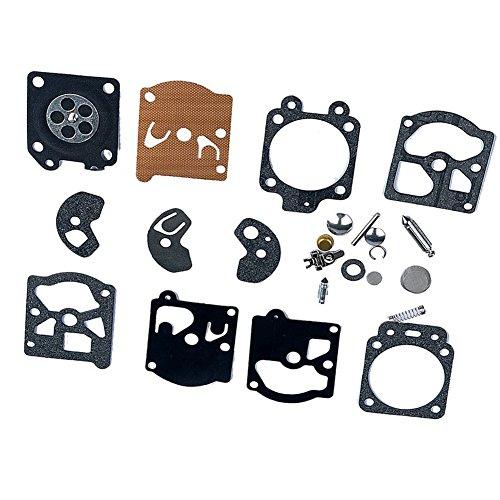 OuyFilters Carburateur Rebuild kit Joint diaphragme K10-wat Walbro WT-1Wt-10Stihl FS40Fs44Husqvarna 50R 26L McCulloch Echo d'autres Marques Occasion à tronçonneuse Tondeuse à Bordure