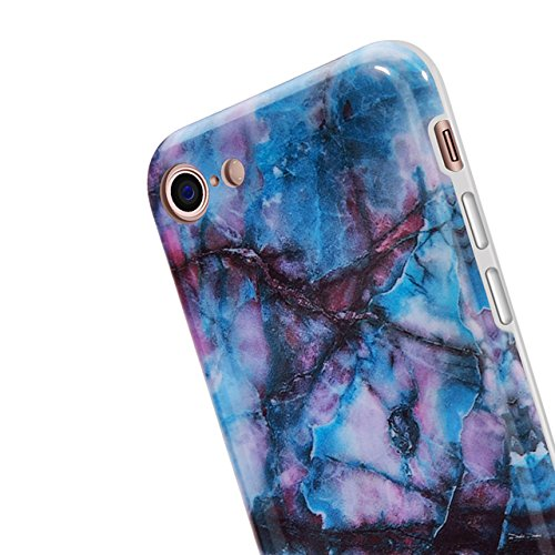 iPhone 6 Plus Hülle, iPhone 6S Plus Marmor Hülle, Vandot TPU Silikon Weich Marble Schutzhülle für iPhone 6+ 6S+ Plus Protective Handy Case Cover[Non Slip, Ultra Thin Slim] Glänzend Soft Handyhülle Sch Muster 11