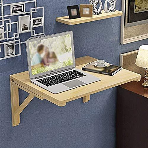 JPVGIA Wand Klapptisch, Küche Esszimmer Drop-Blatt Tisch Wand-Computer Laptop Tisch Schreibtisch für kleine Räume (Size : 80cm*50cm) - Blatt Esszimmer-möbel