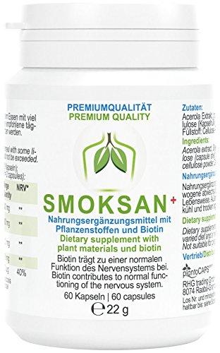 plantoCAPS SMOKSAN+ Kapseln | Monatspackung