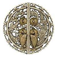 Cabinet face Plate,Vintage Hollow Creative Personality Decorative-A 22x22cm(9x9inch)