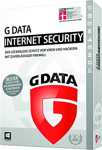 G Data Internet Security 2015 | Upgrade | 1 PC | 1 Jahr (Einfach Deutsch Kostüm)