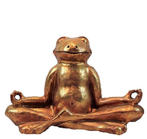 XL Frosch Yoga Relax 27 cm Feng Shui Figur