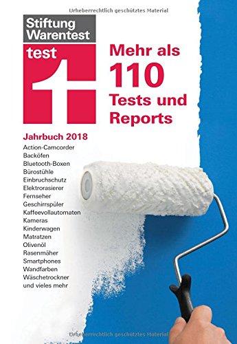 test Jahrbuch 2018: Mehr als 110 Tests und Reports